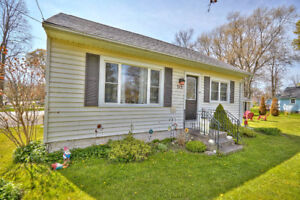 Move in Ready Bungalow on a Corner Lot