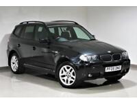2009 BMW X3 2.0d M Sport Manual - black - FINANCE FROM £40 p/w