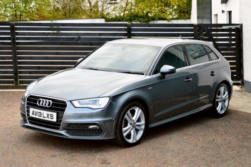 2013 audi a3 s line sportback 2 0 tdi 150 fash 1 owner daytona grey in ballymoney county. Black Bedroom Furniture Sets. Home Design Ideas