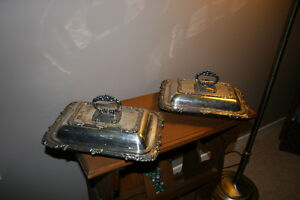 Antique Silver Plated Serving Trays Kingston Kingston Area image 2