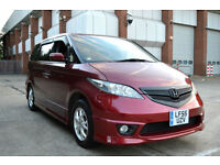 2006 LOW MILEAGE HONDA ELYSION 2.4 V-TEC AUTOMATIC 8 SEATER MAROON STEPWAGON