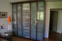 Armoire Penderie/ Wardrobe 3 sections PAX IKEA