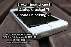 --  repair and unlock smartphones on the spot ---