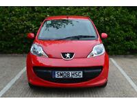 Peugeot 107 1.0 12v 2-Tronic 2007MY Urban