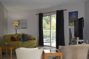 Waterfront 2 bed 1 bath Condo close to D.T., Ocean & Ferry