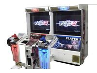 Wanted time crisis or similar arcade machine