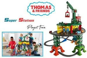 NEW Fisher-Price Thomas  Friends Super Station Playset Train Condtion: New