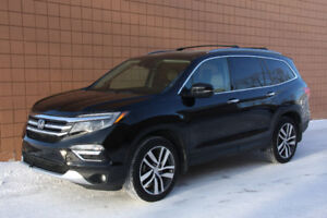 2016 Honda Pilot Touring 7 Pass AWD SUV *Full Load, Ultra Clean!