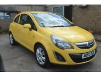 2013 Vauxhall Corsa ENERGY AC 3-Door Hatchback Petrol Manual