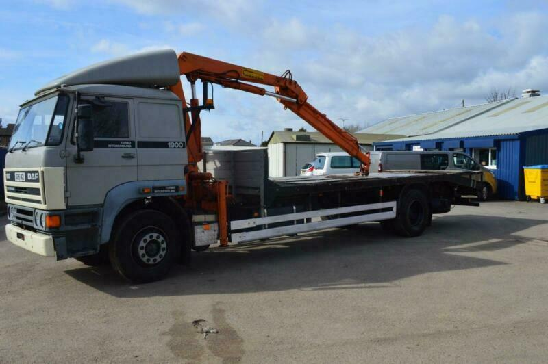 DAF TRUCKS FA 1900 DNS MANUAL FUEL PUMP MANUAL GEARBOX, CRANE, FLATBED | in  March, Cambridgeshire | Gumtree