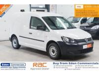 2014 14 VOLKSWAGEN CADDY 1.6 C20 TDI STARTLINE BLUEMOTION TECHNOLOGY 1D 101 BHP