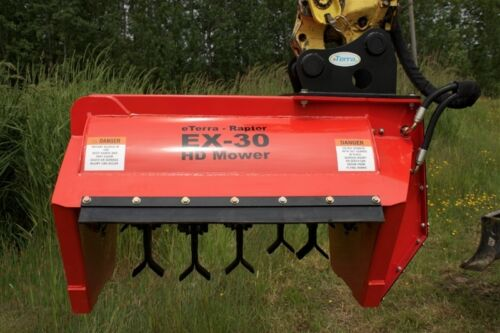 Excavator Flail Mower for Yanmar, Bobcat & More! EX-30 Excavator Brush Mower