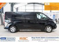 2015 65 FORD TRANSIT CUSTOM 2.2 290 LIMITED LTD BLACK PANEL VAN LWB LONG WHEEL B