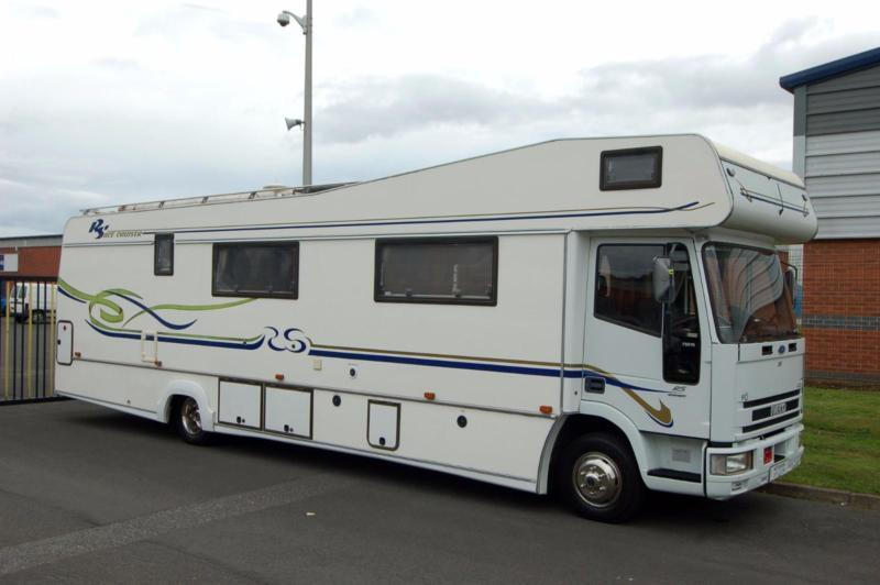 IVECO RS Race Cruiser Motorhome, for Motorsport, Team Events, Bands etc