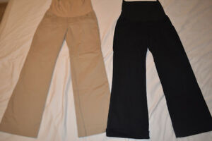 Maternity pants, size small