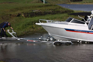 Boat Trailer Rental for Boats upto 34 feet and 12,000 Lbs