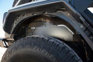 Smittybilt Rear Vented Aluminum Inner Fender Liner Set 07-18 Jeep Wrangler JK