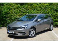 Vauxhall/Opel Astra 1.4i 16v Turbo ( 150ps ) ( s/s ) Auto 2017MY Tech Line