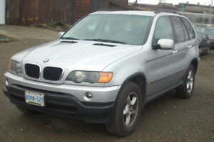 BMW MoE53 3.0i X5 built Nov 2002 M54 6 cyl 3L engine SUV Auto LV
