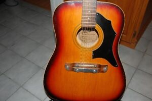 Very Rare 60's vintage Klira 12 string - Made in West Germany