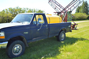 Ford Truck Sprayer