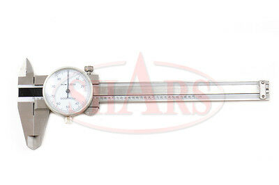 4 Convenient Dial Caliper W Case Calipers New Tool
