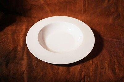 Fine Bone China, Suppenteller 23 cm, 350 ml NEU, Porzellan, Weiß