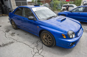 JDM RHD Subaru STI S202 #25 of 400 units ever produced! Rare!