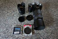 Excellent Olympus e-510 w 14-42mm + 70-300mm Lens + Extras
