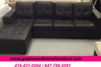 ***** BRAND NEW CONDO SIZE SECTIONAL SOFA...$449 ONLY ****