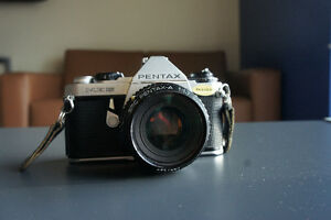 Great Condition Pentax Camera with 50mm Lens