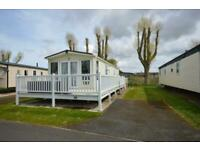 STATIC CARAVAN FOR SALE NORTH WALES 3 BEDROOMS BEACH ACCESS