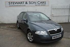 2008 08 SKODA OCTAVIA 1.6 FSI AMBIENTE SUPER CONDITION INSIDE AND OUT
