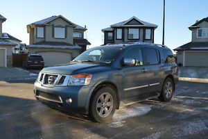2010 Nissan Armada Platinum SUV Reduced Price! Must go!