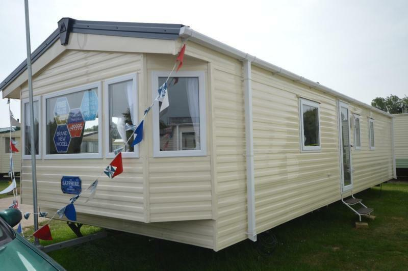 Static Caravan Lowestoft Suffolk 2 Bedrooms 6 Berth Delta Sapphire 2017