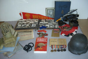 WW2 FMR Canadian soldier memorabilia grouping