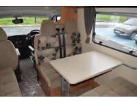 2013 SWIFT ESCAPE 696 36 MULTIJET 2.3 DIESEL AUTOMATIC 6 BERTH 6 TRAVELING SEATS