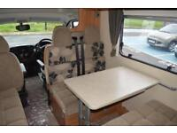 2013 SWIFT ESCAPE 696 MOTORHOME 2.3 DIESEL AUTOMATIC 6 BERTH 6 TRAVELING SEATS M
