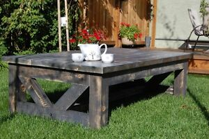 wooden Coffee Table (Modern rustic style)