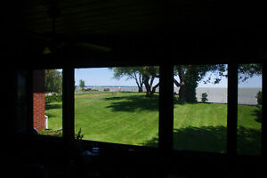 Waterfront home for sale, Lake St. Clair