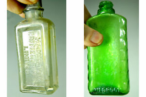 Vintage Glass Apothecary Bottles - Group of Five Medicine Bottle London Ontario image 1