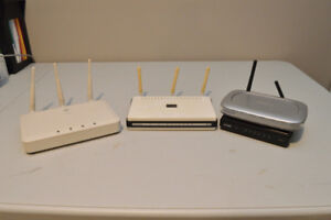 Various Wifi Routers