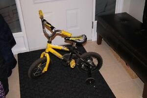 "12"" Supercycle Moon Ryder Boy's Bicycle (yellow and black)"