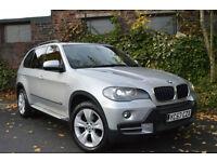 2007 BMW X5 3.0d auto SE+FULL BMW SERVICE HISTORY+4 KEYS+1 YEAR MOT+PX M SPORT+