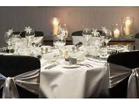 Fish Bowl Centrepiece Hire £4 Martini Vase Rental £9 Wedding Throne Hire £199 Wedding reception Deco