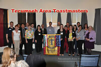 Ever wanted to speak in front of a group? Toastmasters can help!