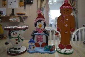 Décorations de Noël peintes à la main