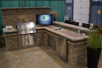 Stainless Steal Outdoor Rated Fridge, Doors and Sink