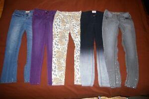 Jeans et short pour adolescentes et femmes 3 ans