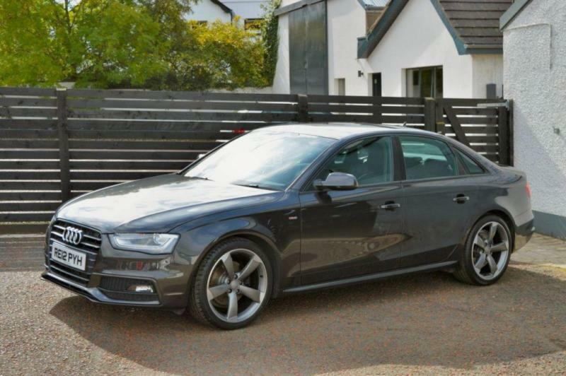 2012 audi a4 s line black edition tdi lava grey fash in ballymoney county antrim gumtree. Black Bedroom Furniture Sets. Home Design Ideas